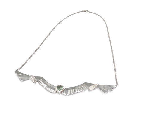Wingspan Necklace in Silver