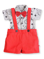 100% Organic Cotton Onesie Dungaree Set