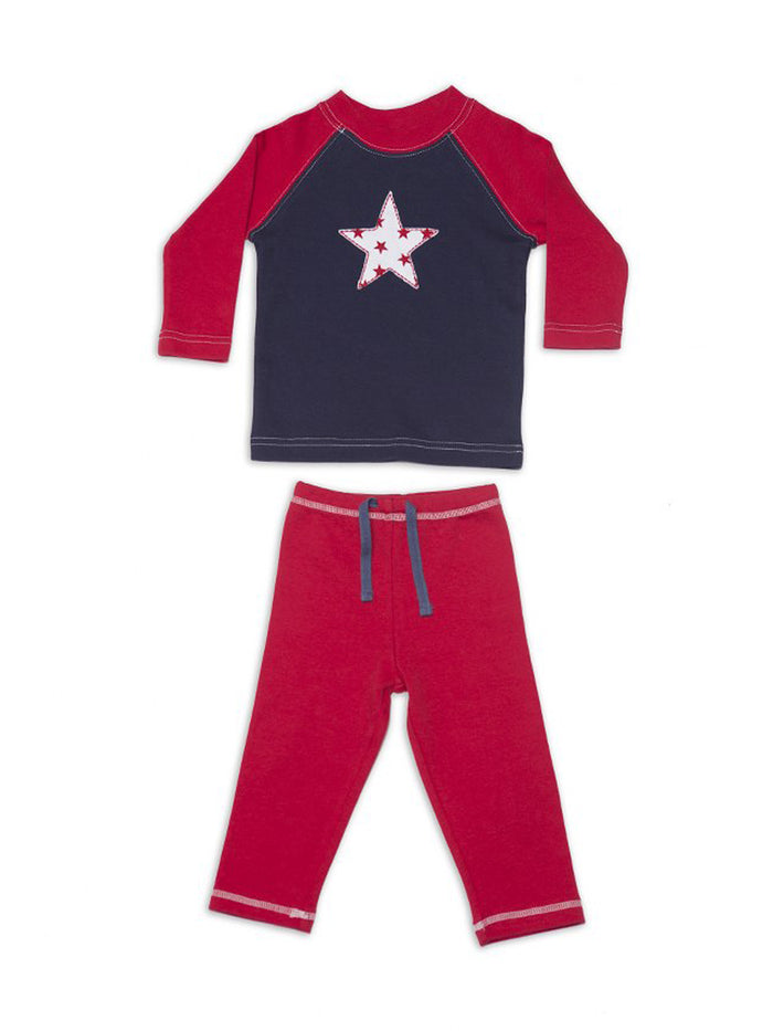 Nino Bambino 100% Organic Cotton Top And Bottom Sets for Baby Boy