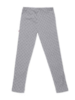 Nino Bambino 100% Organic Cotton Printed Full length legging For Kids