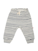 Nino Bambino 100% Organic Cotton Striped Leggings For Baby Boys