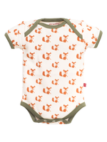 Nino Bambino 100% Organic Cotton Printed Bodysuit For Unisex Baby (Baby Girls & Baby Boys)