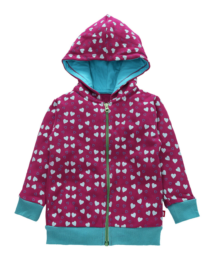 Nino Bambino 100% Organic Cotton Jacket in Pink Colour