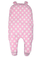 Fleece Hood Wrap Sleepsuit