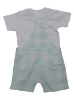 Nino Bambino 100% Organic Cotton Dungaree Sets For Baby Boy