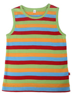 Nino Bambino 100% Organic Cotton Sleeveless Tank-Tops With Shorts For Unisex Baby