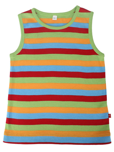 100% Organic Cotton Sleeveless Tank-Tops With Shorts