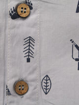 100% Organic cotton Half Shirt