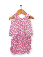 Nino Bambino 100% Organic Cotton Baby Girl Top & Bottom Set