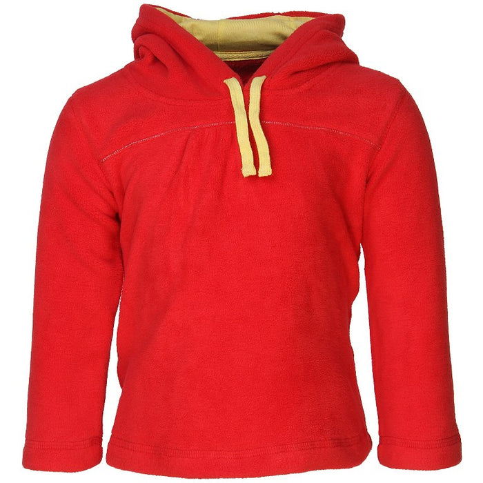 Nino Bambino Polar-Fleece Hoodie Red Color Hoodie Sweatshirt For Baby Boys