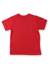 Nino Bambino 100% Organic Cotton Red T-Shirts For Baby Girls