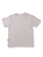 Nino Bambino 100% Organic Cotton Grey T-Shirt For Baby Boys