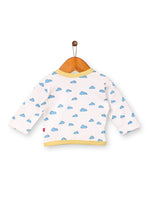Nino Bambino 100% Organic Cotton Full Sleeve jhabla For Unisex Baby
