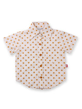 Nino Bambino 100% Organic Cotton Half Sleeve Shirt For Babies & Kids Boy