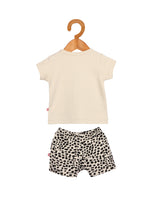 Nino Bambino 100% Organic Cotton T-Shirt & Short Sets For Baby Boy