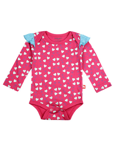 100% Organic Cotton Bodysuit (Pack of 2)
