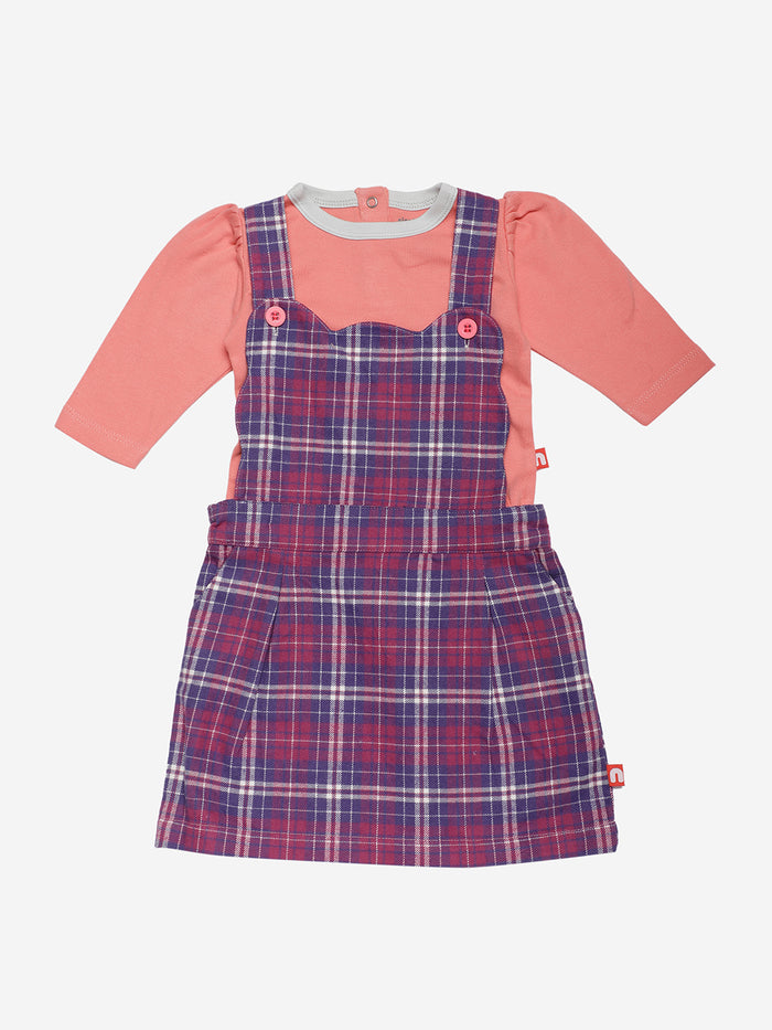Nino Bambino 100% Organic Cotton Baby Girl Dress