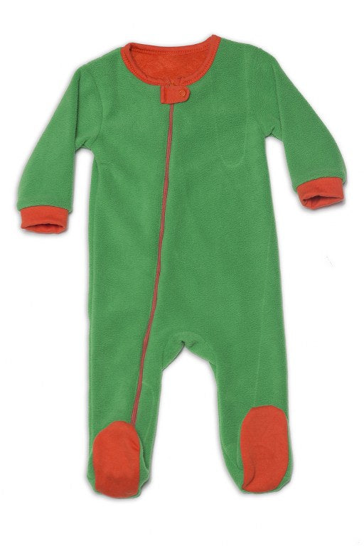 Fleece Footie Romper