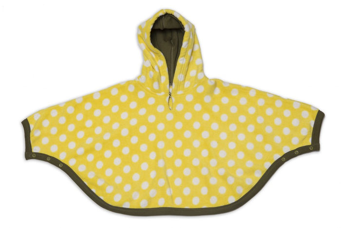 Fleece Poncho Topwear