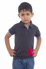 100% Organic Cotton Half Sleeves Polo T-Shirt