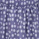 100% Organic Cotton Flower Print Skirt For Girls