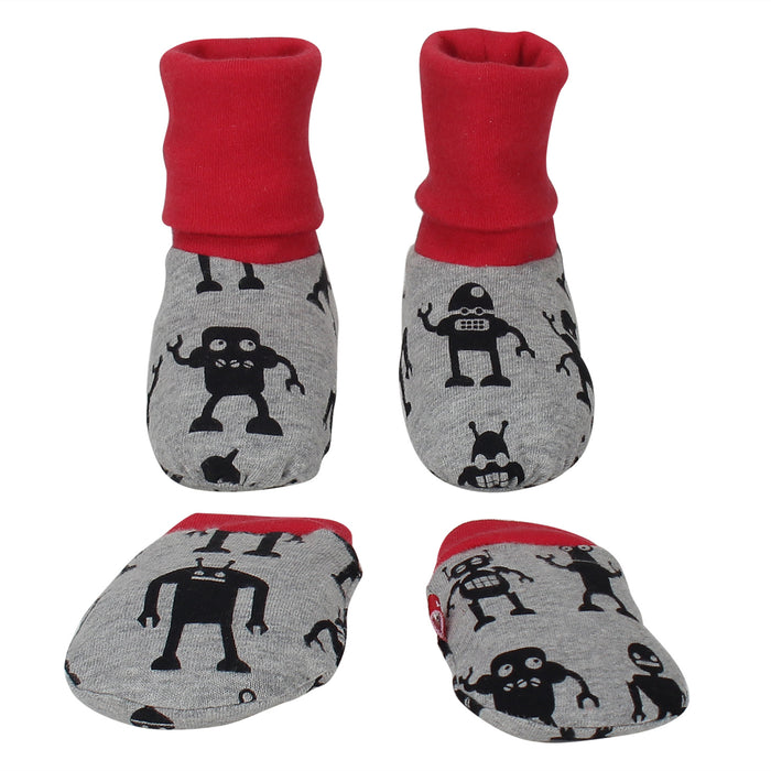 100% Organic Cotton Booties and Mitten Set
