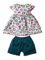 100% Organic Cotton Top with Bloomer
