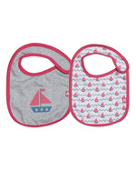 100% Organic Cotton Bib Set
