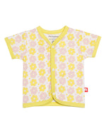 Nino Bambino 100% Organic Cotton Jhabla Set ( Pack of 3 ) in Multi Color