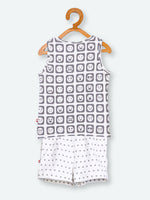 100% Organic Cotton T-shirt & Shorts Set