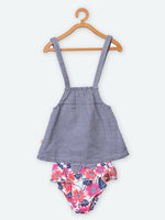 100% Organic Cotton Dress with Diaper
