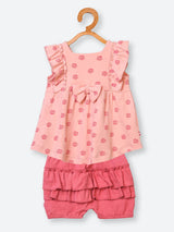 100% Organic Cotton Dress and Shorts Set