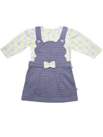 100% Organic Cotton Dungaree Dress Set
