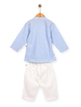 Nino Bambino 100% Pure Organic Cotton Kurta Pajama For Babies & Kids Boy