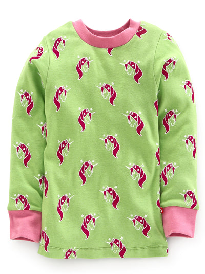 Nino Bambino 100% Organic Cotton Long Sleeves Top And Bottom Sets For Babies & Kids