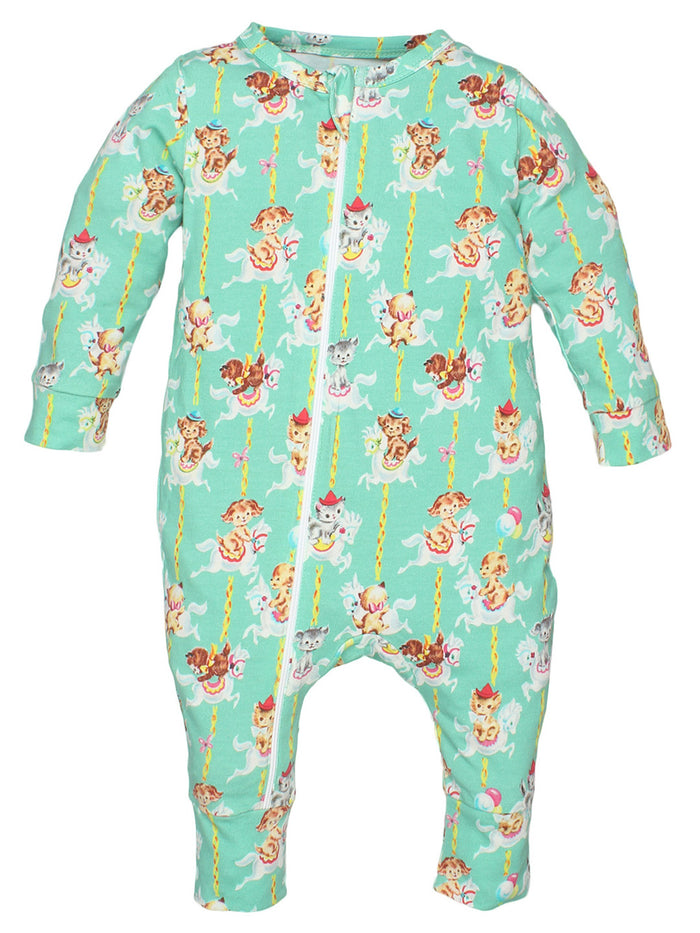 100% Organic Cotton Full Romper