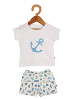 Nino Bambino 100% Pure Organic Cotton Top & Bottom Sets For Baby Boys