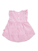 Nino Bambino 100% Organic Cotton Pink Dress For Baby Girls