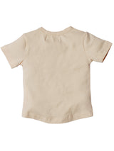 Nino Bambino 100% Organic Cotton Half Sleeves T-Shirt For Baby Girls