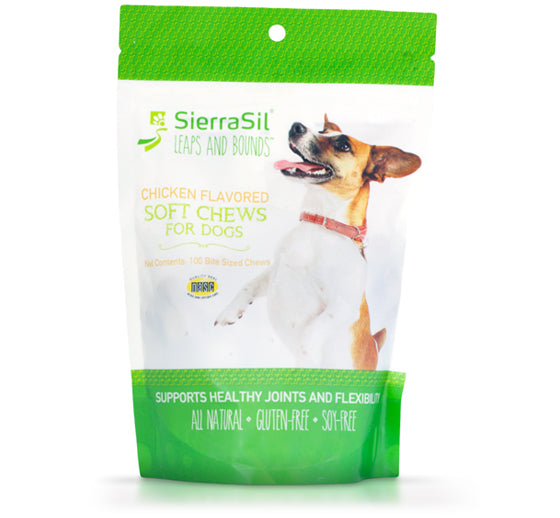 Leaps and Bounds Soft Chews for Dogs | SierraSil - US