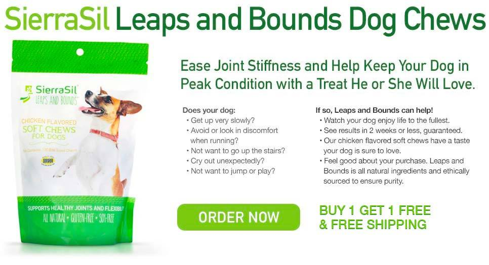 Leaps and Bounds Dog Chews