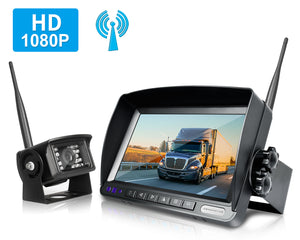 Backup Camera System >> Zeroxclub Wireless Backup Camera Kit For Van Rv Truck