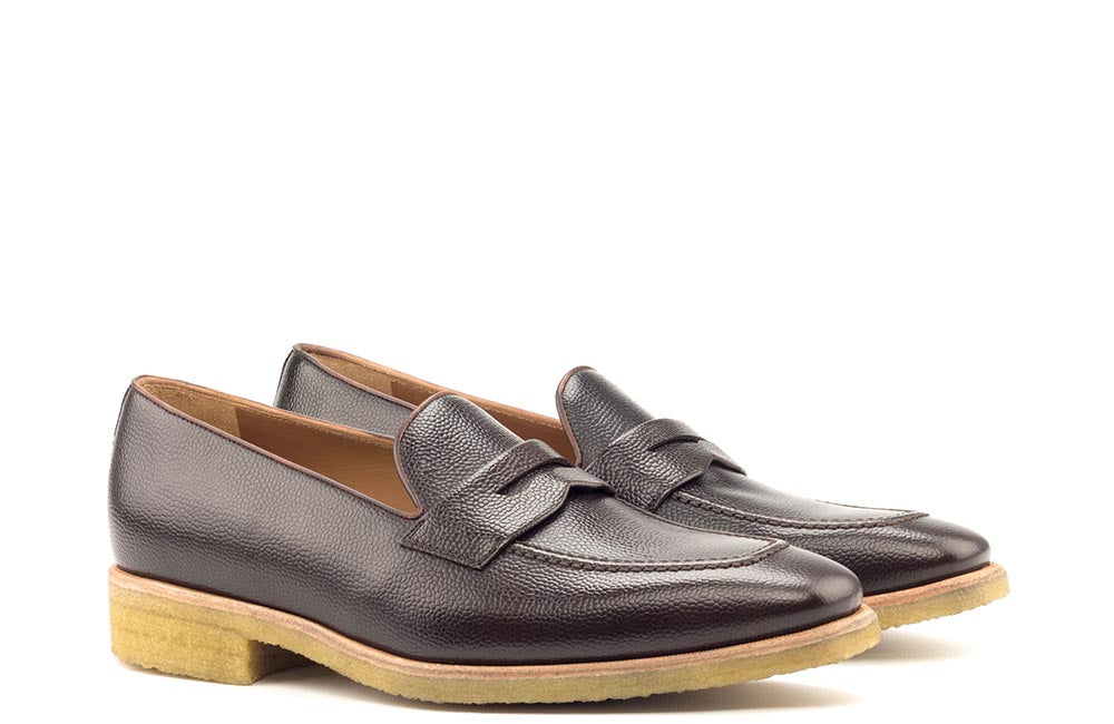 LOAFER - BROWN GRAIN