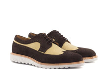 Load image into Gallery viewer, BROGUE - BROWN SUEDE