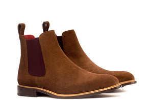 CHELSEA - BROWN SUEDE