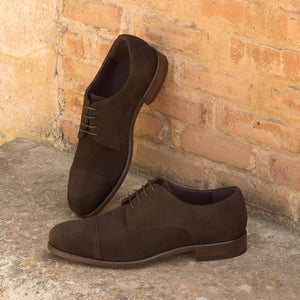 DERBY - BROWN SUEDE