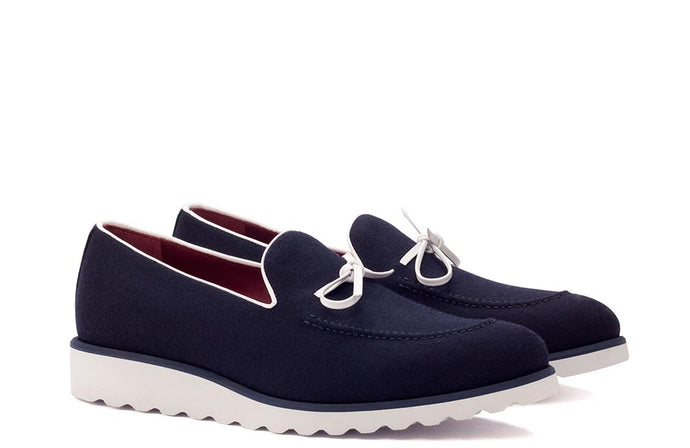LOAFER - NAVY FLANNEL