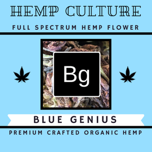 Hemp Culture Blue Genius