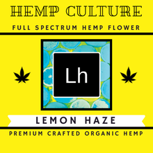 Load image into Gallery viewer, Hemp Culture Lemon Haze