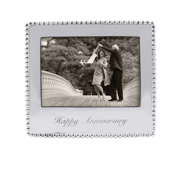 Happy Anniversary BEADED 5X7 FRAME